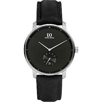 Tanskalainen design Donau Watch - Musta