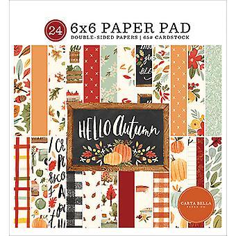 Carta Bella Hello Herfst 6x6 Inch Paper Pad