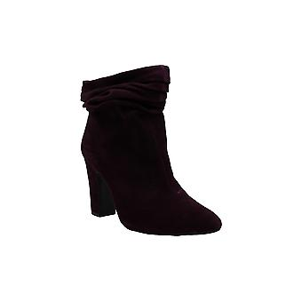DKNY Womens Sabel Leather Closed Toe Ankle Fashion Boots