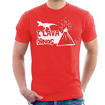 Jurassic World Fallen Kingdom I Lava Dinos Men's T-Shirt