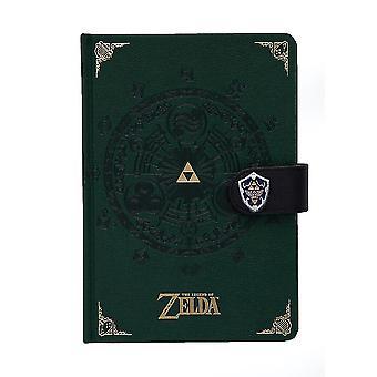 The Legend Of Zelda Medallion A5 Notebook