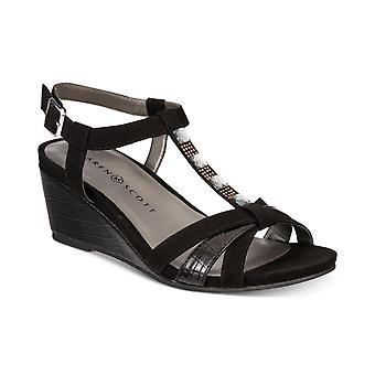 Karen Scott Womens Clarita Open Toe formelle Slingback Sandals