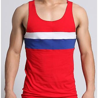 Mens Cotton Gym Vests Undershirt Sleeveless Tank Top, Workout Clothing