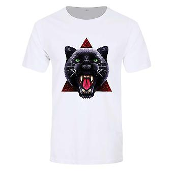 Unorthodox Collective Mens Geometric Panther T-Shirt