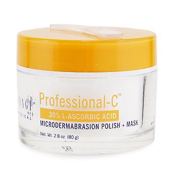 Professional-c 30% L-ascorbic Acid Microdermabrasion Polish + Mask - 80g/2.8oz