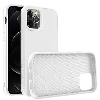 Back Cover For Apple iPhone 12 Pro Max Flexible Shockproof Rhinoshield white