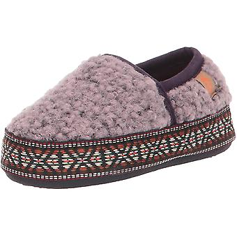 Eikel Unisex-Child L'il Woven Trim Moc Slippers