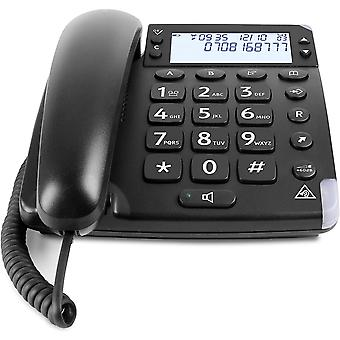 4000 Corded Home Phone for the Elderly with Audio Boost Button