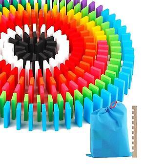 Farvet Domino Blocks Kit