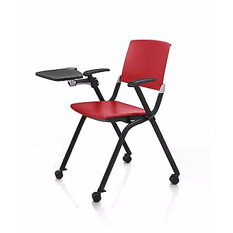 Commercial Office Folding With Writing Board Office Chair, Training Chairs