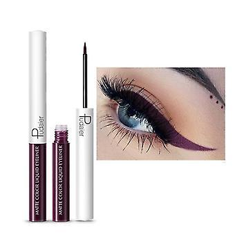 Stylo eye-liner rapide et sec imperméable à l'eau de longue durée, crayon liquide mat