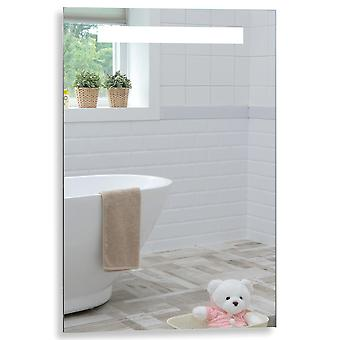 MOOD Rectangular Bathroom Mirror 70cm x 50cm Illuminated