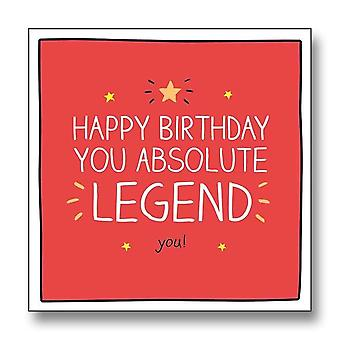 Pigment Happy Jackson - Happy Birthday You Absolute Legend Card Gf8078a