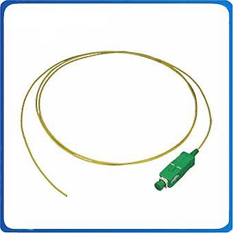 Simplex,0.9 mm, 1.5m, Pvc-takki, Kuituoptinen pigtail