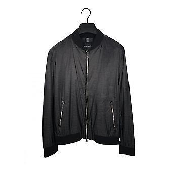 Antony Morato Bomber Jacket Regular Fit Ripstop Zwart