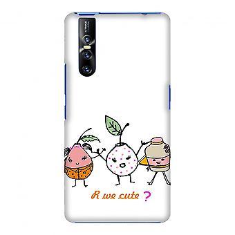 Are We Cute Slim Hard Shell Case For Vivo V15 Pro