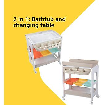 Dolphy Baby Changing Unit, Warm Grey