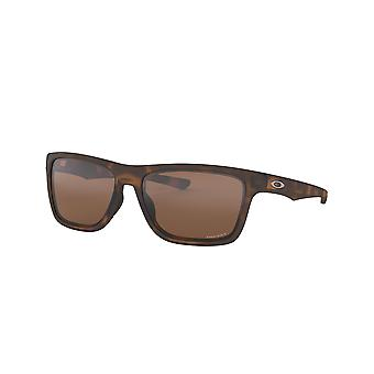 Oakley Holston OO9334 10 Matte Brown Tortoise/Prizm Tungsten Óculos de Sol