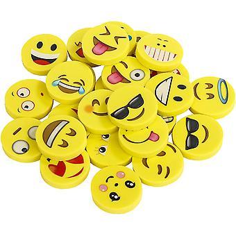 FengChun Emoji Kinder Radiergummi 144 Stcke Smiley Radierer Spielzeug Gastgeschenk Geschenke fr