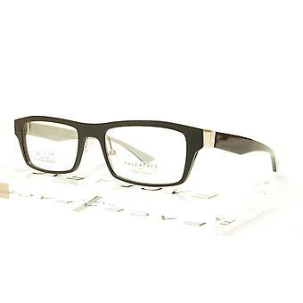 Face A Face ALIUM 1 AN915 Aluminum Eyeglasses Black Grey France Made