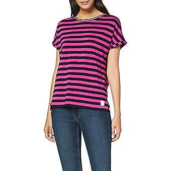 Marc O'Polo Denim 947229651075 T-Shirt, Viola (y/d Stripe 606/815 N26), M Woman
