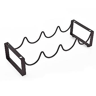 Homemiyn Matte Bronze Wine Rack, Bold Wine Rack, Free Combination And Superimposing, Strong And Durable