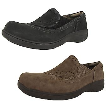 Aravon Womens Revsolace Slip On Loafer Shoes