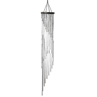 Metal Wind Chimes  And 18 Scrub Aluminum Alloy Gold Tubes Wind Chime