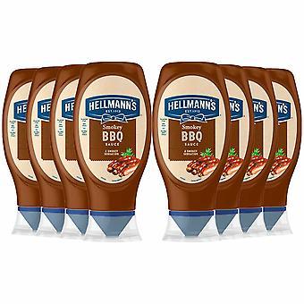 Hellmann's Smokey BBQ Sauce 8 Packs of 430ml