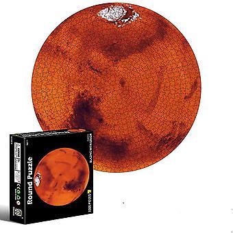 Mars 1000 Stück 3D visuelle Puzzles für Erwachsene und Kinder az2466