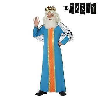 Disfraz para niños Mago rey melchior (2 Pcs)