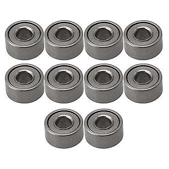 Pour 10pcs MR52ZZ Roulement à billes en acier Miniature 2x5x2.5mm Titane WS515