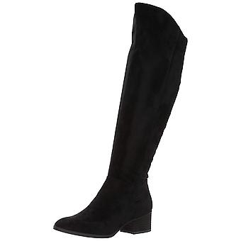 Dr. Scholl's Shoes Womens F2660S1 Suede Closed Toe Over Knee Fashion Boots