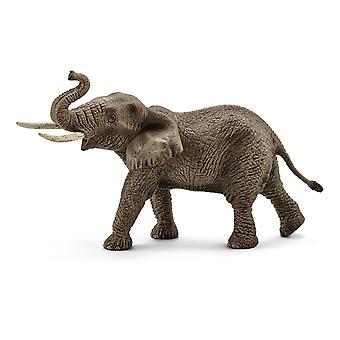 SCHLEICH Wild Life Mannelijke Afrikaanse Olifant Speelgoed Figuur