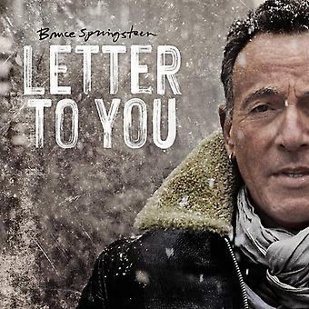 Bruce Springsteen - Vinyle lettre à vous édition limitée
