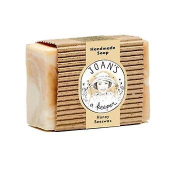 Joans A Keeper Hand Made Soap Honey & Beeswax, 3.75 Oz