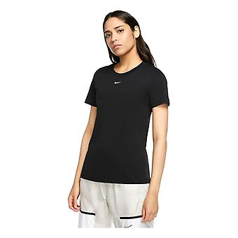 Women's Short Sleeve T-Shirt Nike Sportswear CZ7339 011 Black
