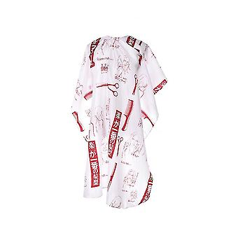 Ножницы женщины лицо стрижка парикмахерская фартук с Snap Закрытие водонепроницаемый волосы Резка салон парикмахерской cap 115x100cm