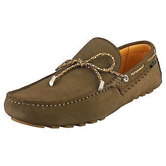 Paul Smith Springfield Herren Loafer Schuhe in Khaki