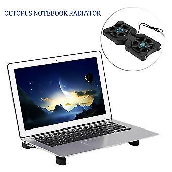 Usb-Anschluss Mini Octopus Notebook Lüfter Kühler Kühlpad für 14 Zoll Laptop