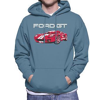Ford GT Supercharged Miesten huppari
