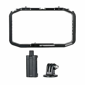 Handheld video rig for SLR, mobile and GoPro