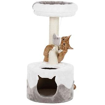 Trixie Nuria Scratching Post, 71 Cm White-Grey (Cats , Toys , Scratching Posts)