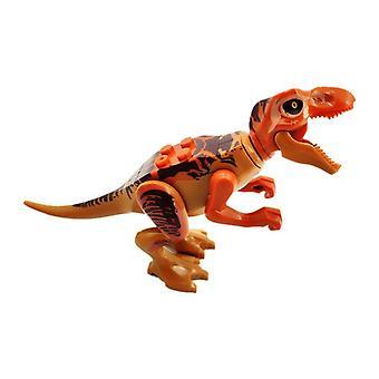 Dinosaurus Jurassic - World Park yhteensopiva Tyran-nosaurus Diy Assemblen kanssa
