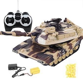Guerre militaire Rc Char de combat Lourd Grande télécommande interactive Toy