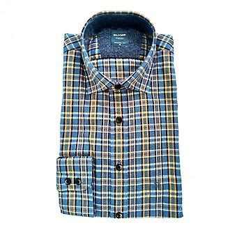 OLYMP Olymp Blue Shirt 4008 84 18