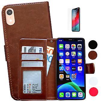 Iphone Xr - Skórzana obudowa / Ochrona