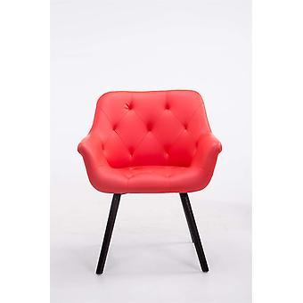 Esszimmerstuhl - Esszimmerstühle - Küchenstuhl - Esszimmerstuhl - Modern - Rot - Holz - 67 cm x 56 cm x 83 cm