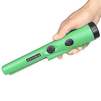 Metal detectors fully waterproof handheld metal detector underwater 3-5 meters working pinpointer green daerduo