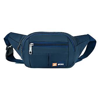 Unisex Taille Tas Outdoor Running Waist Bag Schouder Crossbody Borstzak